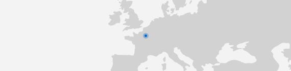 Mapa Evry