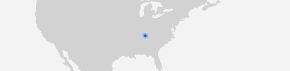 Mapa Nashville