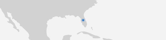 Mapa Orlando